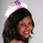 girl celebrating her quinceanera
